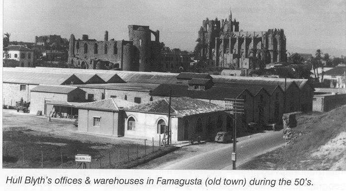 Hull Blyth Araouzos Offices at Famagust during 50's